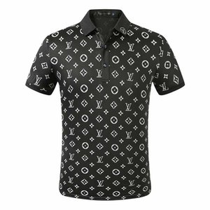 FF new designer Polo shirt men's luxury Polo casual men's Polo T-shirt snake bee letter printed embroidery fashion high street men's Polos