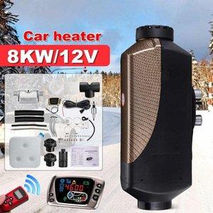 HCalory 8KW 12V Air diesel Aquecedor monitor LCD Remoto Controle de Estacionamento Aquecedor para caminhões Barcos Bus 6PN8 #