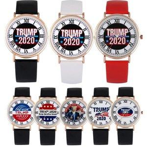Trump 2020 Watches for Men Women Quartz Wristwatches reloj para hombres Leather Men's Watches