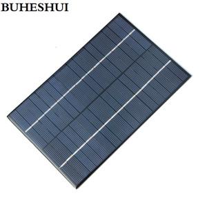 BUHESHUI 4.2W 18V policristalino Solar Cells painéis solares Módulo para carregar Sistema Solar 12V Bateria DIY 200 * 130MM