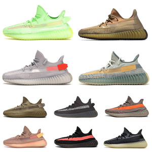 2020 ayakkabı Eliada kanye koşu ayakkabısı size us 13 israfil Earth Tail Light desert En kaliteli yeni varış eğitmenler Çocuk ayakkabıları spor sneakers
