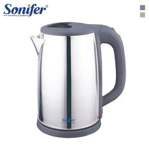 2.0l 220v Электрический чайник из нержавеющей стали 304 Cordless 1500w Бытовой Кухня Быстрого Отопления Электрического Кипения бак чая Sonifer T190619