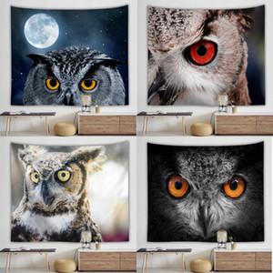 baykuş dijital baskı arka plan asılı bez baykuş duvar halısı dijital baskı ev duvar arka plan duvar halısı ev asılı bez