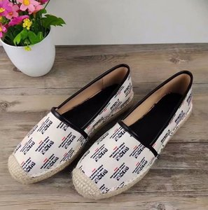 Ting2594 6131 Latest Cotton And Linen Printed Fisherman Casual Shoes Sneakers Dress Shoes Skate Dance Ballerina Flats Loafers Espadrilles