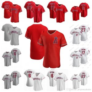 Los Angeles Anthony Rendon Angeli 2020 di baseball Jersey 27 Mike Trout Shohei Ohtani Matt Harvey Trevor Cahill Justin Upton Andrelton Simmons