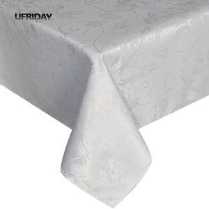 UFRIDAY Luxury Floral Tablecloth New Waterproof Table Cloth Dining Table Cover For Kitchen Coffee Home Decor Rectangular Garden T200708