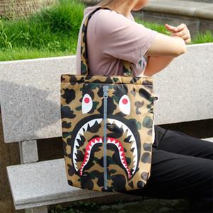 책가방 만화 가슴 가방 야외 메신저 가방 w5zzw 아이콘 새로운 발광 컴퓨터 상어 배낭 학생 책가방 성격 패션