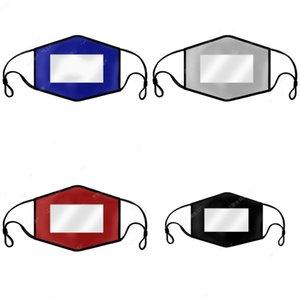 Lip Lingua Deaf Mute Bocca Maschera ricca di colore il viso mascherine trasparenti Reuseables respiratori bell'aspetto facilitare la comunicazione 6 5hm E2