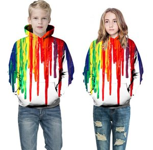 2020 sumitong autumn new 3D printed Hooded Sweater European and American large children's baseball uniform for men and women
