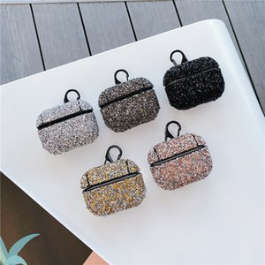 For AirPods Case Luxury Diamond Decorative for Apple Case Accessories Wireless Bluetooth Earphone Protective Cover Bag Shell Case