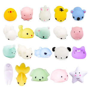 Lovely Animal Squishy Toys Decompression Venting Ball Trickery Student Small Gift Children s Squeeze Cartoon Toy 0 45yx D2
