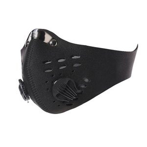 Mountain Road Bike Bicycle Half Face Masks Anti-Dust Cycling Face Mask Breathable Activated Carbon Cycling Running Bicycle Mask