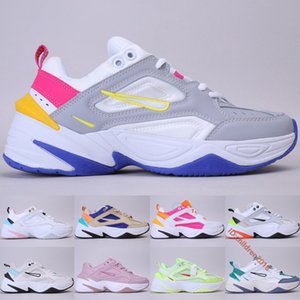 Top M2K Tekno Womens Running Shoes High Quality Desert Ore Pure Platinum Sail White Pink Blue Big Kids Sneakers Size 5.5-8.5