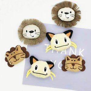 10PCS / Lot layette de poupée lion en peluche patches artisanat pour accessoires Applique vêtement fille et décoration sac