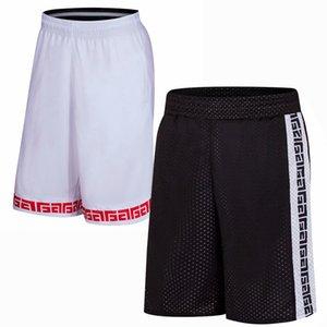 Men Summer Basketball Shorts Male Sportswear Double sided Running Shorts Breathable Training Wear Plus Size Shorts L-5XL