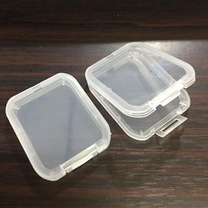 Protection Case Card Container Memory Card Boxes CF Cards Tool Plastic Transparent Storage Box Mini CF Card Easy To Carry Box LX2242