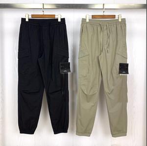 drop shipping Spring and summer new fashion brand retro Multi Pocket overalls men's jogging Leggings men's fashion