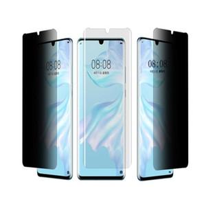 Pantalla 9H Anti-Spy Protector para Huawei Nova 3i 4 5 5 5i Pro Pro 5i Y9E Y9s Y9 Y9 primer Y8E Plus 9D antideslumbrante vidrio templado