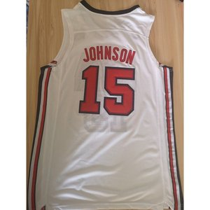Electric version jersey Dream 10 team US team #15 Anthony jers Cheap stitched Basketball jerseys