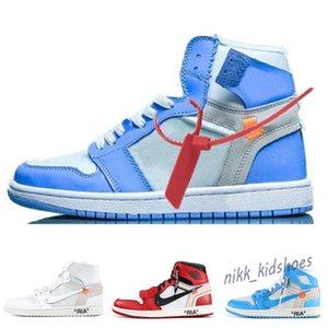 2020 OG 1 1S Basketball Shoes Chicago Red White Blue UNC Women Outdoor Athletic Off Sport Trainer running Shoes Sneakers 36-46 b22