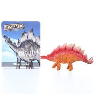 CCymt Jurassic simulation solide dragon modèle Tyrannosaurus dinosaur statique plastique avec carte simulation Jurassic solide dragon Tyrannosaurus