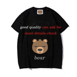 moschinos t shirt da donna Italia stile di nuovo modo di estate orso bello Animal Print paio di Maglie maniche corte