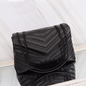 Newset Klassische Jumbo 31CM 26cm 20cm X Large Form Schulter mit Ketten Taschen Handtaschen-Frauen-Kupplungs-Kuriertote-Beutel Crossbody Geldbeutel-Einkauf