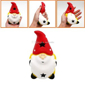 Christmas Squishy Squeeze Healing kids toys Kawaii Toy Santa Claus Stress Reliever Pressure Relieving Toys Slow Rising christmas gifts