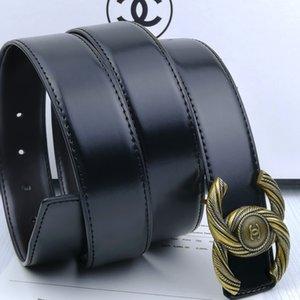 2020 fashion leisure comfortable men's designer belts Man-made leather fine workmanship belt width is 3.4 cm belt length is 110 cm-125 cm