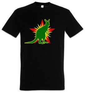 Socialista Kangaroo T-shirt Socialismo Comunismo socialista comunista Fun Castro
