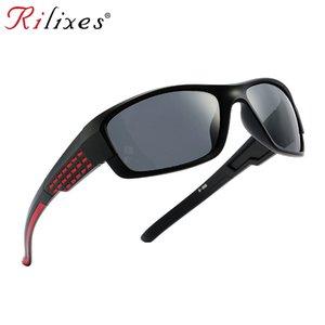 RILIXES polarisants chaud Marque Mode hommes femmes lunettes de soleil polarisées Mirror Sport Gafas Night Vision Mirror