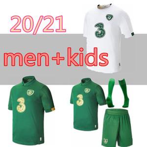kit pour enfants adultes 20 21 maillot de football Irlande Keane McClean Brady Coleman Clark Hendrick équipe nationale irlandaise 2020 chemise 2021 de football