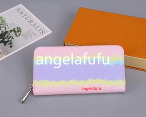 2020 new leather soft leather long section of the credit card package men and women wallet fashion leisure card folder wallet