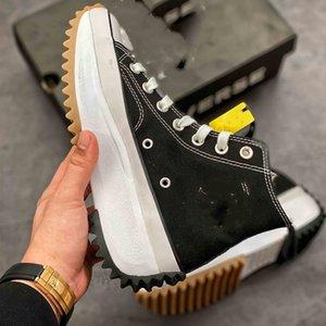 Ro Herren conversa zapatos Classics weißen Turnschuhe Breathable hohe Sohle-Schuh-Sommer-Segeltuch Mens Sportschuh
