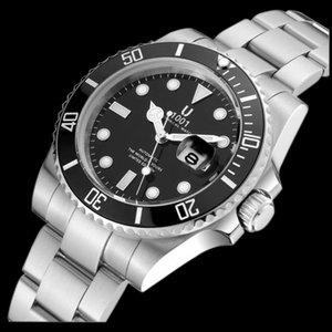 U1001 brand Black Top luxury Ceramic Bezel designer Mens Mechanical Stainless Steel Automatic Movement Watch Self-wind Watches
