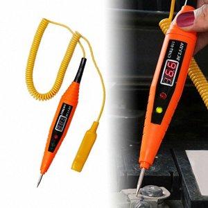 Инструменты светодиодные для автомобилей Авто Тестирование Diagnostics Tool Цифровой LCD Electric Voltage автомобилей для автомобильного испытания Pen Detector Tester Kk8d #