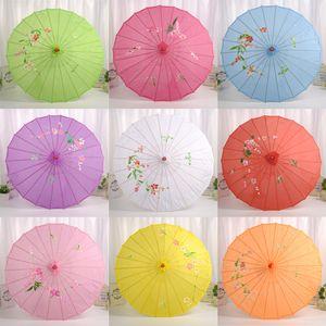 Décore condole porte sur le papier huilé parapluie processus classique soie accessoires de scène de la photographie de studio de danse parapluie parapluie