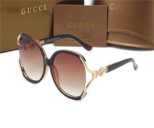 2020 Nouvelle Arrivée Desiginer Lunettes de soleil des femmes des hommes demi-cadre UV400 Miroir polarisants drving Sport Casual Lunettes de soleil de luxe GUCCI