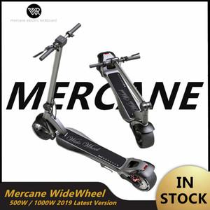 원래 Mercane WideWheel Kickscooter 500W / 1000W 야외 스포츠 스마트 와이드 휠 접이식 스마트 전기 스쿠터 듀얼 모터 호버 보드