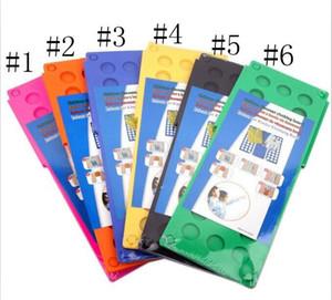 Flip Folding Board Child Adult Magic Clothes Folder Folding Board Multic Funcation Plastic Fast Speed Folder Garment Finishing Tool ALSK125