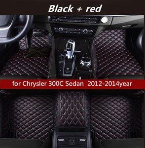 Chrysler 300C Sedan 2012-2014year Olmayan slip toksik olmayan paspas araba paspas için