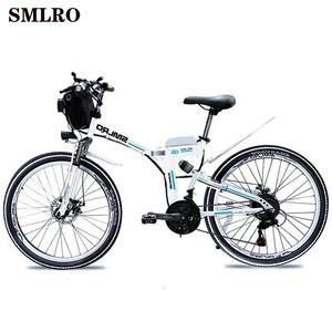 Smlro Yüksek MX300 Kalite 48V Araçlar Güçlü elektrikli bisiklet / elektrikli bisiklet 10Ah Akü Ebike Elektrikli motosiklet