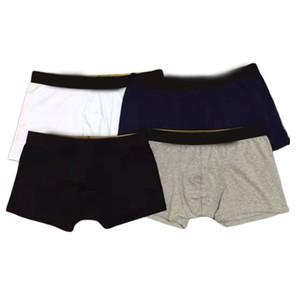 4 couleurs 2021 style hommes sous-vêtements Boxer Shorts hommes masculins masculins masculins hommes hommes Boxer homme-perspicacité Soft homme culotte respirante Cuecas boxeur