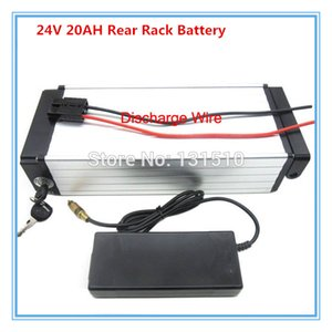 500W 24 V lithium battery 24V 20AH Scooter batteries for rear rack ebike bateria 29.4V 3A charger 30A BMS FREE SHIPPING