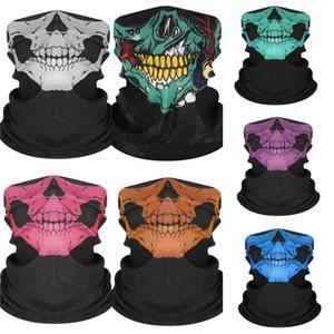 9Kpwp Le Nouveau CANT I Skull Scarf BREATHE Masques de protection Masque crâne magique d'équitation écharpe Multifonctionnel crâne écharpe Fa # Mouvement Foulard 75