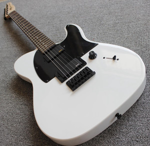 Custom Shop JIM ROOT Signature White Tele Electric Guitar Copy EMG Pickups, Maple Neck, Rosewood Fingerboard, Black Hardware, Drop Shipping