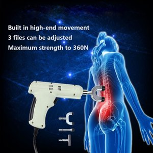 New original 4 Heads Electric Correction Gun adjustable intensity Therapy Chiropractic Adjusting Instrument Activator Massager