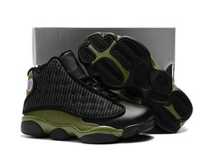 New Kids Black Boy & girl 13s Bred History of Flight Youth basketball shoes HOF children athletic sports boy girl sneakers size 28-35
