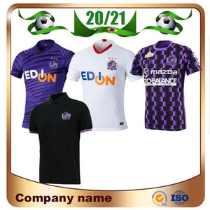 20/21 J1 League Sanfrecce Hiroshima Soccer Jerseys 2020 Accueil N ° 12 Playey Soccer Shirt Away Football Uniforme Vente