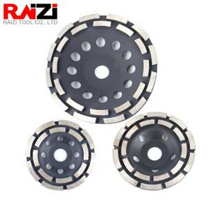 Avuç Taşlama Beton terazzo Taşlama Disc için RAIZI 4.5 inç / 5 inç / 7 inç Elmas çanakları